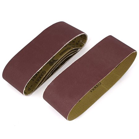 Unique Bargains Woodworking 533mmx75mm 240 Grit Abrasive Sanding Belt Sandpaper