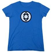 Green Lantern Indigo Tribe Womens Short Sleeve Shirt