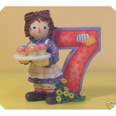Raggedy Ann Andy Cupcakes Age 7 823791 Enesco By Raggedy Ann Enesco - Raggedy Ann