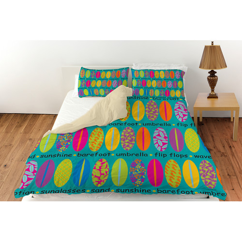 Manual Woodworkers & Weavers Surfs Up 1 Duvet Cover Collection
