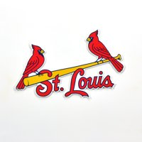 "St. Louis Cardinals Alternate Logo 12"" Steel Sign - No Size"