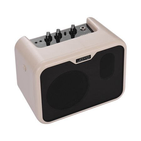 JOYO MA-10B Mini Portable Electric Bass Amplifier Speaker 10Watt Amp Normal/Drive Dual Channels with Power Adapter