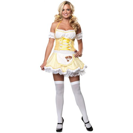 Storybook Goldilocks Adult Costume - Medium/Large - Costume Book