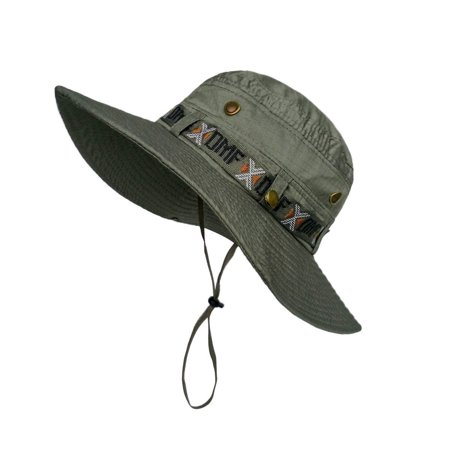 Lethmik camouflage hat summer fishing sun hat uv for Fishing hats walmart