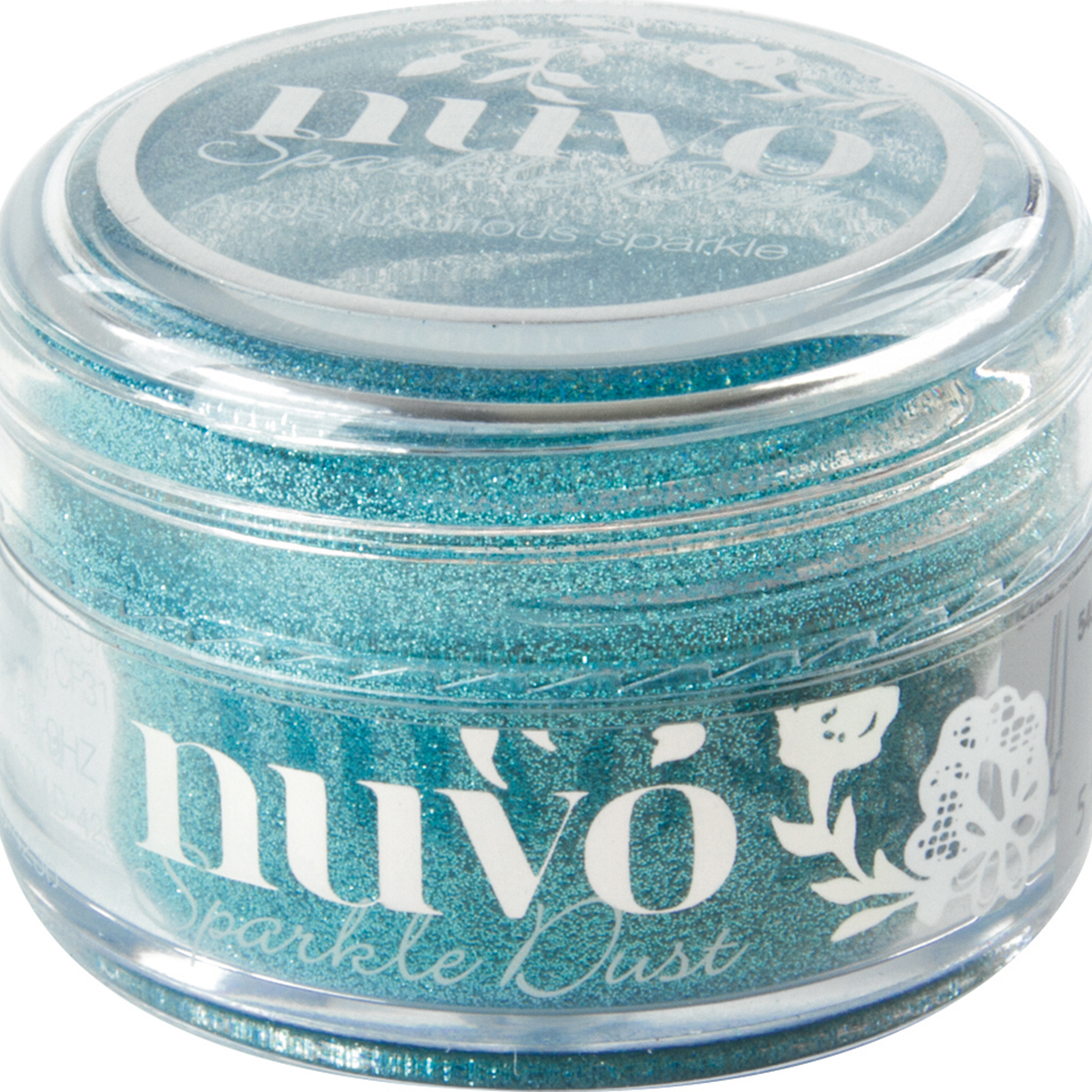 Nuvo Sparkle Dust .5oz-Paradise Blue