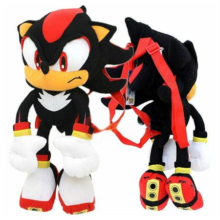 Sonic The Hedgehog 24 Plush Backpack-Black](Sonic Girls)