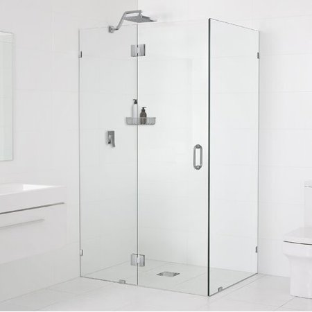 Gl Warehouse 34 X 78 Hinged Frameless Shower Door