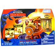 How To Train Your Dragon Movie Playset Battle & Collapse Slingshot Includes H