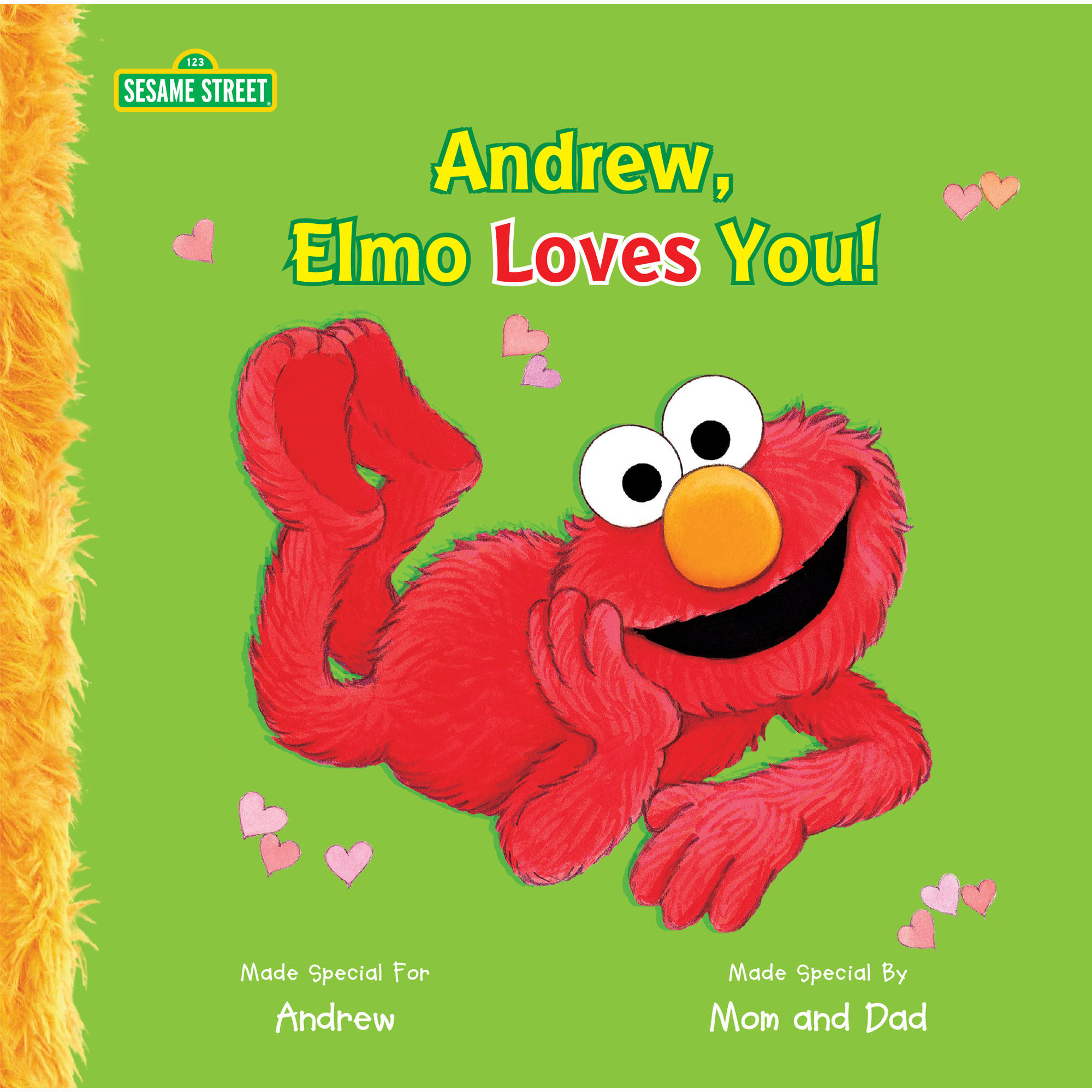 Personalized Book Elmo Loves You! by Generic