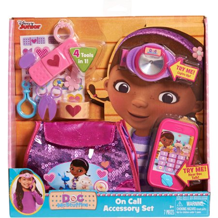 Doc Hudson Accessories - Disney Doc McStuffins On Call Accessory Set