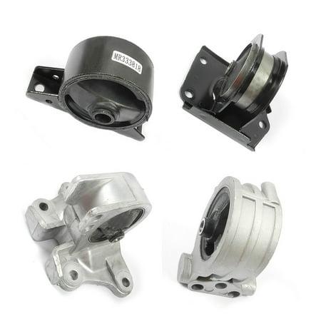 A4602 A4612 A4621 A6699 Fits: 99-03 Mitsubishi Galant 2.4L Motor & Trans Mount 4PCS Kit For Auto Trans. 99 00 01 02 03