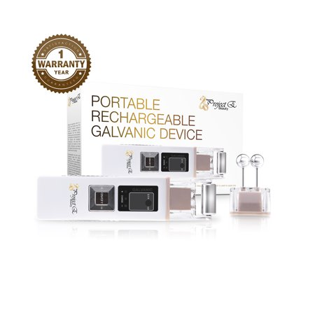 Portable Wireless Galvanic Positive Negative Ion Facial Skin Rejuvenation Tightening Lifting Beauty