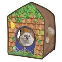 Kitty City Safari Hut House
