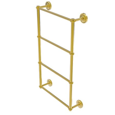 Allied Brass Regal Ladder Towel Bar Twisted Detail