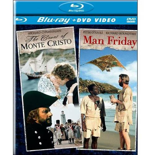The Count Of Monte Cristo / Man Friday (Blu-ray + DVD)