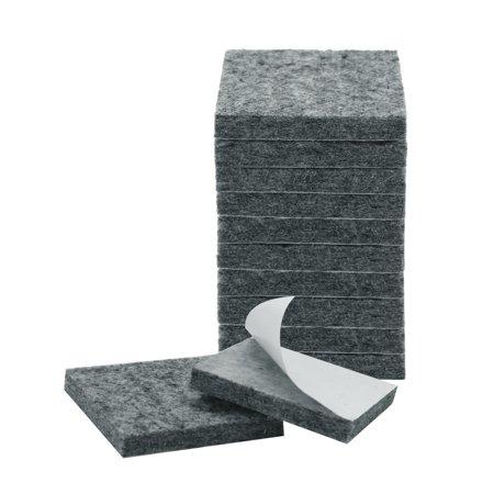 "Felt Furniture Pads 1 1/2"" Self Adhesive Anti-scratch Table Leg Protector 12pcs - image 7 de 7"