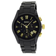 Roberto Bianci  Men's Black Ceramic Chronograph Watch