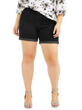 641adccc1f57a Product Image Rock   Stone Women s Plus Super Stretch Cuffed Denim Short