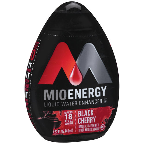 MiO Energy Black Cherry Liquid Water Enhancer, 1.62 oz