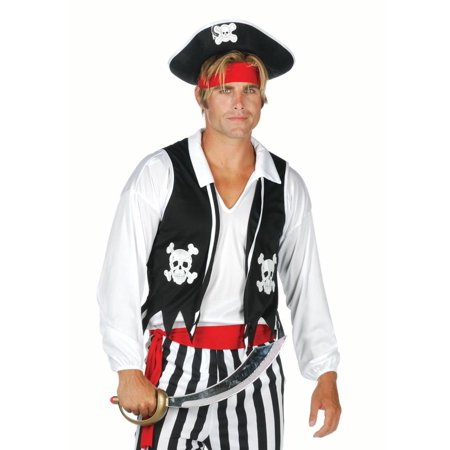 Adult Pirate Vest - Pirate Adult