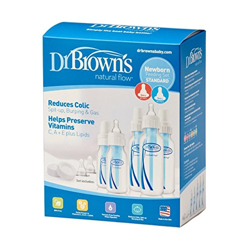 Dr. Browns BPA Natural Flow Bottle Newborn Feeding Set (Packaging May Vary) -... by Dr. Brown%27s