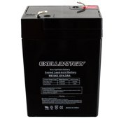 Exell 6V 4.5Ah SLA Battery Rechargeable AGM replaces UB645, D5733