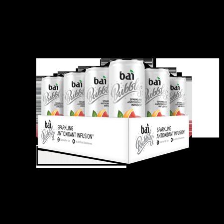 Bai Bubbles Antioxidant Infused Beverage, Jamaica Blood Orange, 11.5 Fl Oz, 12 Count (Blood Orange Vodka Halloween Drinks)