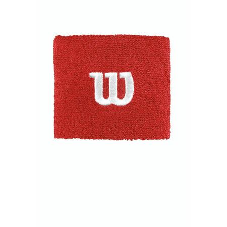 Wilson W Wristband, Red