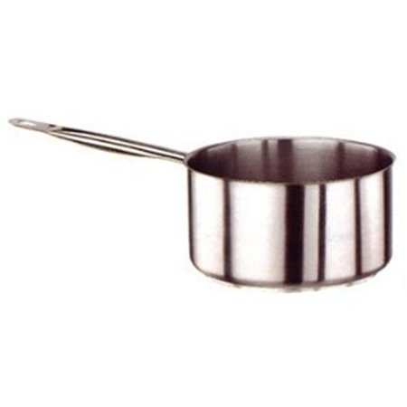 World Cuisine 11011-18 Stainless-steel 7-1/8-Inch Low Sauce Pan