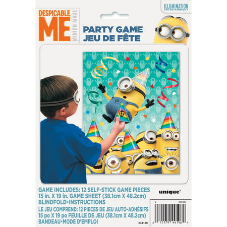 Despicable Me Minions Party Game for 12](Minion Birthday Decorations)
