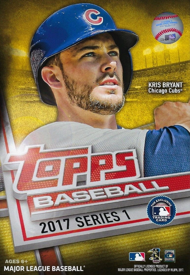 2017 Topps Baseball Factory Sealed Series One Hanger Box with 72 Cards per box and... by Topps