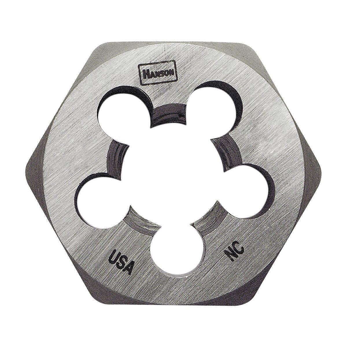 "IRWIN Hexagon Die 1/"" Across 1//8-27 NPT Industrial Tool Machine Screw Die 9502ZR"