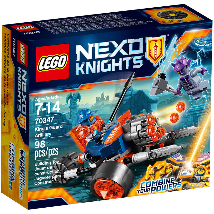 LEGO Nexo Knights King's Guard Artillery 70347
