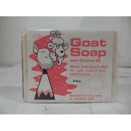 Goat Soap Coconut Oil 3.5 oz-Pack of 3