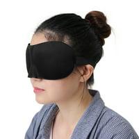 ffbc86a71 Product Image 3D Sleeping Eye Mask Soft Padded Eyeshade Cover Travel Eye  Mask Black