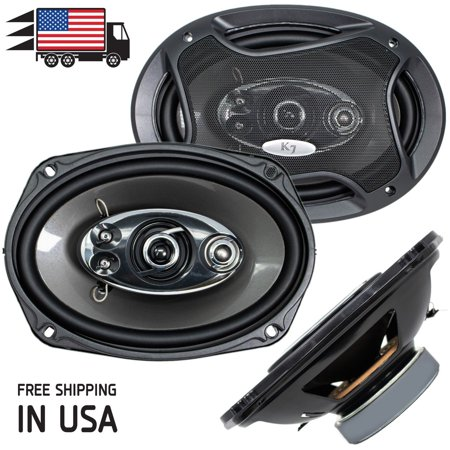 New Audiotek K7 6x9 5-Way 700 Watts Coaxial Car Speakers CEA Rated 4-Ohm