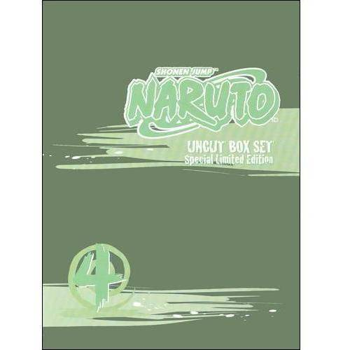 Naruto Uncut Box Set 4 (Special Edition) by Viz Media