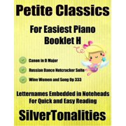 Petite Classics for Easiest Piano Booklet H - eBook