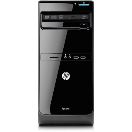 HP Black Pro 3500 D8C46UT Desktop PC with Intel Core i5-3470 Quad-Core Processor, 4GB Memory, 500GB Hard Drive and Windows 7 Professional (Monitor Not Included)