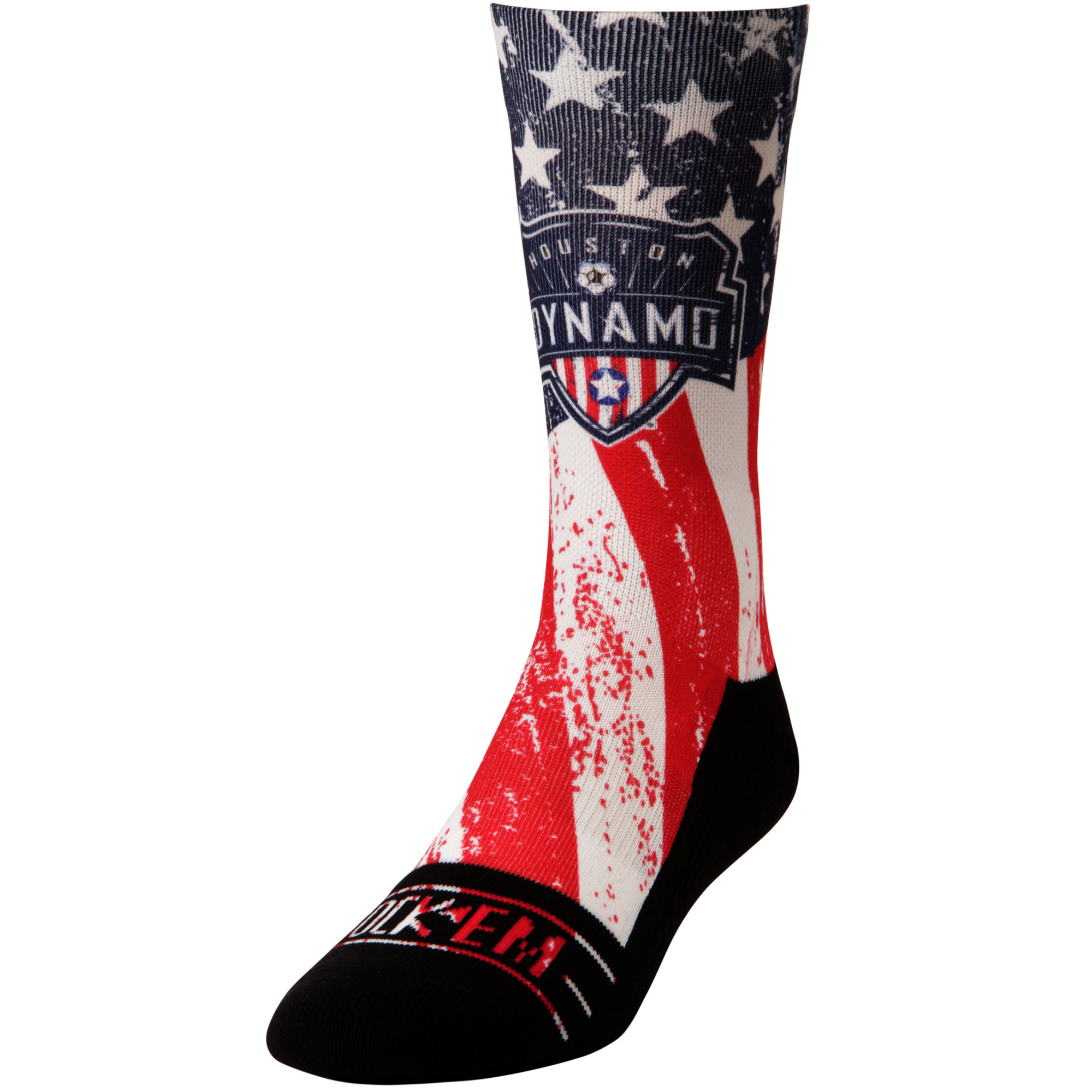 Houston Dynamo For Club and Country Socks - Blue
