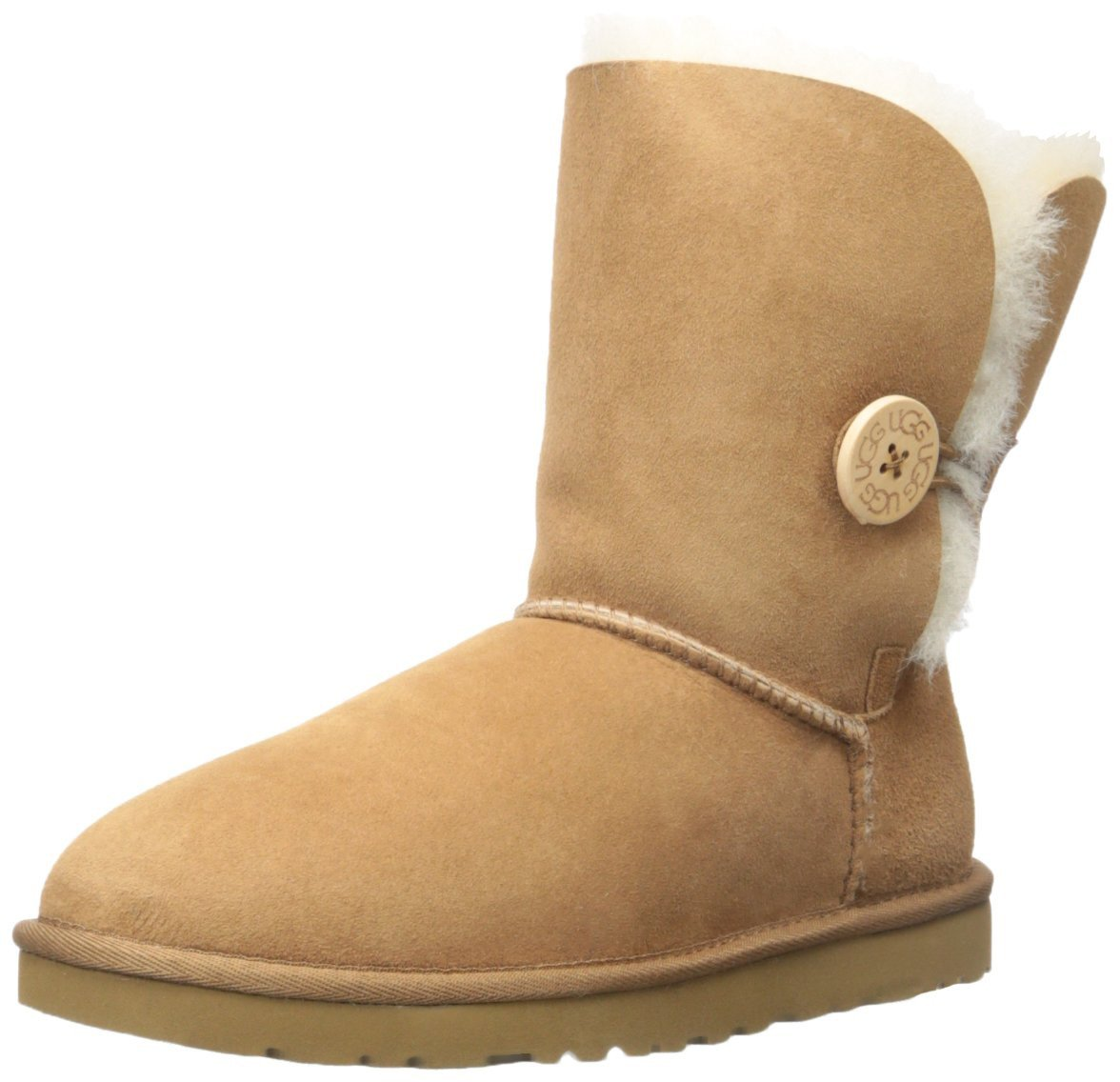 Ugg Australia Bailey Button Grey Women's Winter Boots 580...