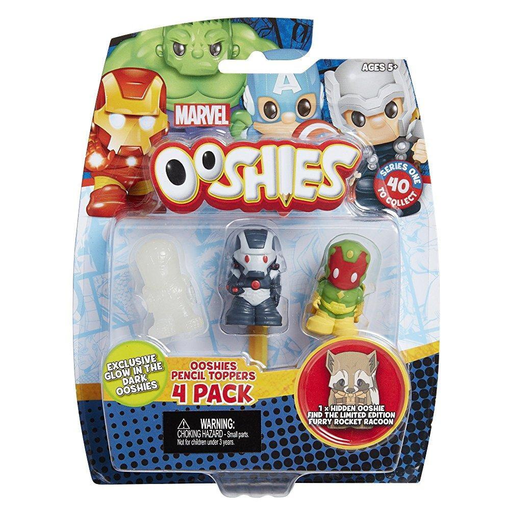 Ooshies Marvel 4-Packs #3