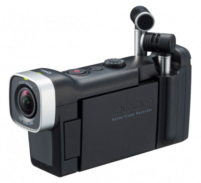 Zoom Q4N Handy High Definition Video Recorder