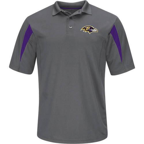 NFL Baltimore Ravens Big Men's Basic Polo