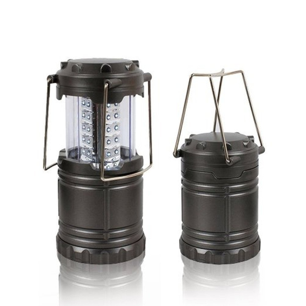 Ultra Bright LED Collapsible Camping Lantern - Water Resistant Portable Camping Lantern - Suitable for All Outdoor Activities - Camping, Emergency Lighting, Fishing, Hiking, Outages, Light Weight