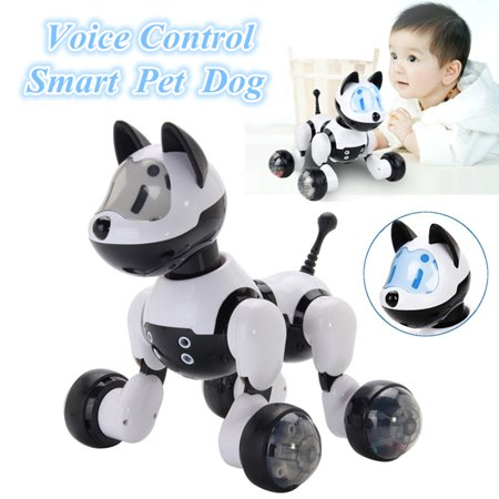 Intelligent Electronic Robot Dog Voice Control Dance Walking Kids Pet Toy Gift