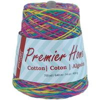 Premier Yarns Home Cotton Yarn - Multi Cone Rainbow