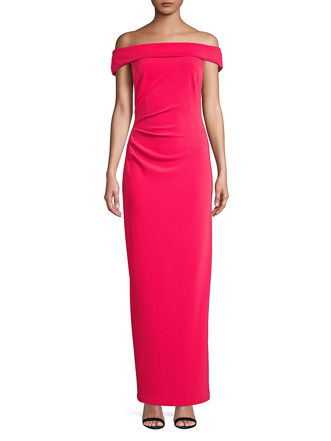Off-the-Shoulder Sheath Gown