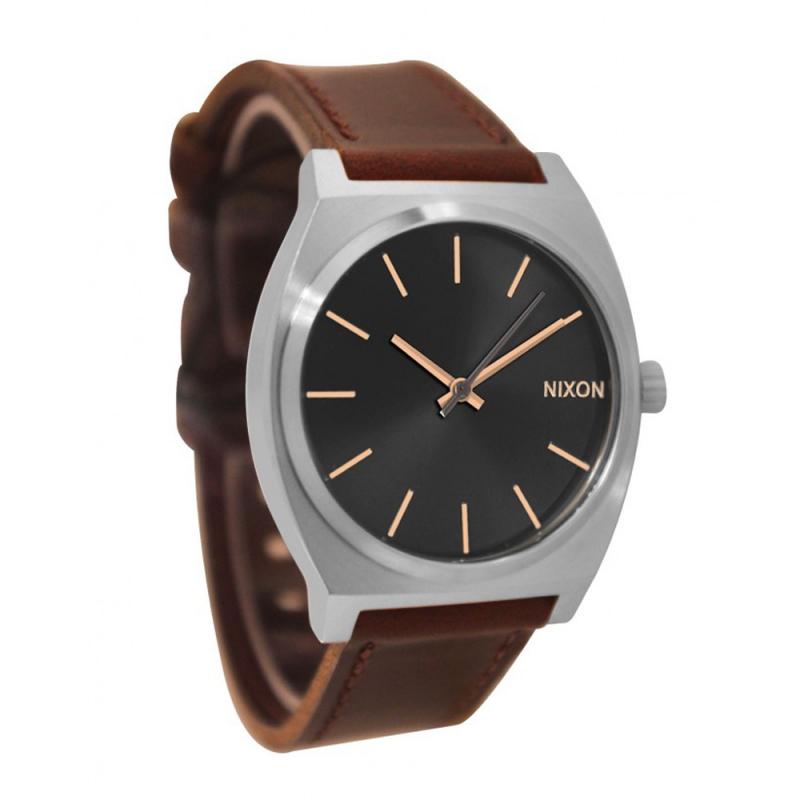 Nixon Time Teller Black Dial Mens Watch A0452066