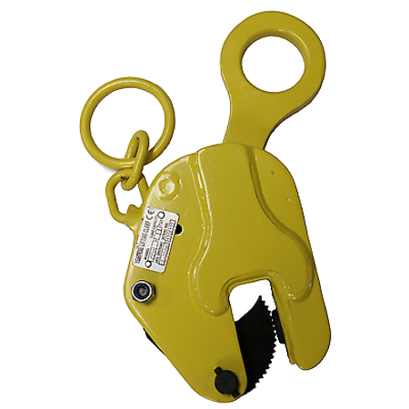 V-Lift Industrial Vertical Plate Lifting Clamp Steel 1763 Lbs WLL with Lock